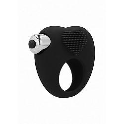 Aubin Vibračný erekčný krúžok, čierna