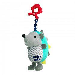 Baby Mix Detská plyšová hračka s hracím strojčekom Ježko