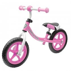 Baby Mix Detské odrážadlo bicykel Twist, ružová