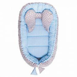 Belisima hniezdo pre bábätko Minky Sweet Baby modré