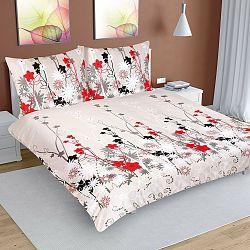 Bellatex Bavlnené obliečky Margaréty, 200 x 200 cm, 2 ks 70 x 90 cm