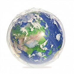 Bestway Nafukovacia lopta Globus žiariaca, 61 cm