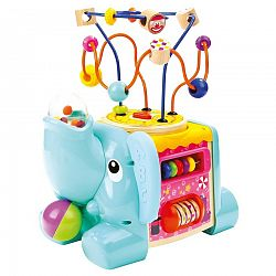 Bino 84212 motorická kocka slon