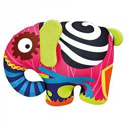 Bino Farebný slon 39x30cm