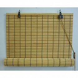 Gardinia Roleta bambusová JAVA prír./čokoláda, 100 x 160 cm