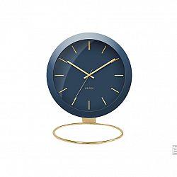 Karlsson Dizajnové stolové hodiny 5832BL Karlsson 25cm