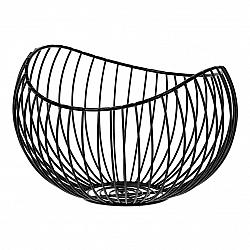 Kovový dekoračný košík Elegant, 24 x 15 x 21 cm