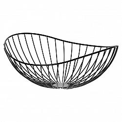 Kovový dekoračný košík Elegant, 32 x 13 x 28 cm