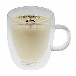 Maxxo Escential Sviečka v skle Coffee, prírodný vosk, 300 g
