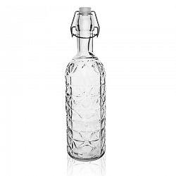 Orion Fľaša sklo CLIP uzáver 1,1 l ELA