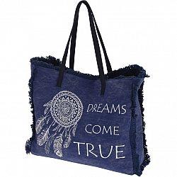 Plážová taška Dreams come true, modrá