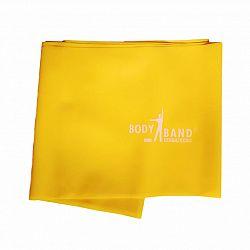 Posilňovacia guma Body-Band 2,5 m, žltá SJH 523A