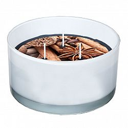 SPAAS Sviečka v skle 3 knôty Mix korenie, 13,8 x 7,3 cm