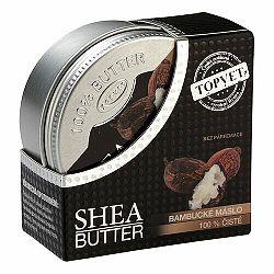 Topvet Shea Butter bambucké maslo bez parfumácie 100 ml