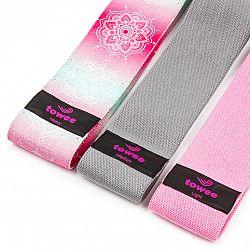 Towee Textilná odporová guma Mandala Booty band, 3 ks