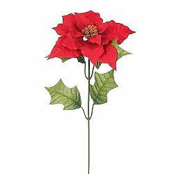 Umelá Poinsettia červená, 51 cm